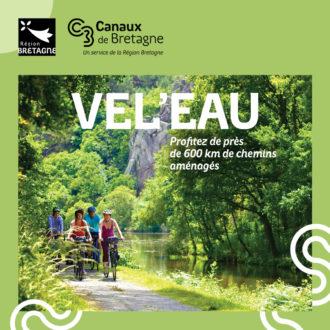 Visuel de la campagne de communication Canaux de Bretagne