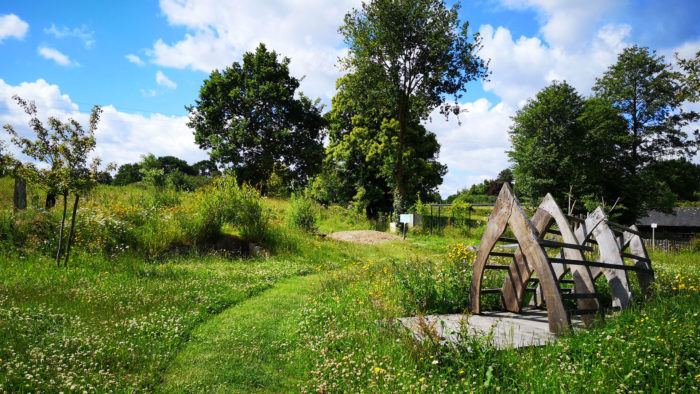 Le jardin des mille ruisseaux de Bréteil