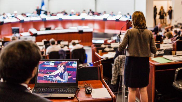 session du Conseil régional de Bretagne