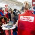 espace orientation sur un événement dédié à l'information sur les métiers et formations