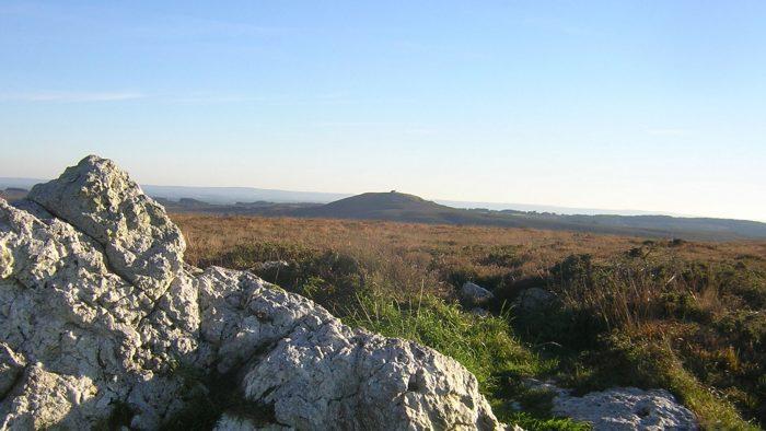 vue du parc naturel régional d'Armorique