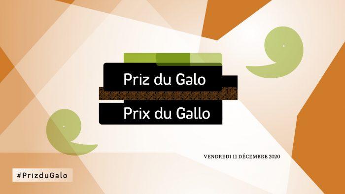 Affiche des Prix du Gallo 2020