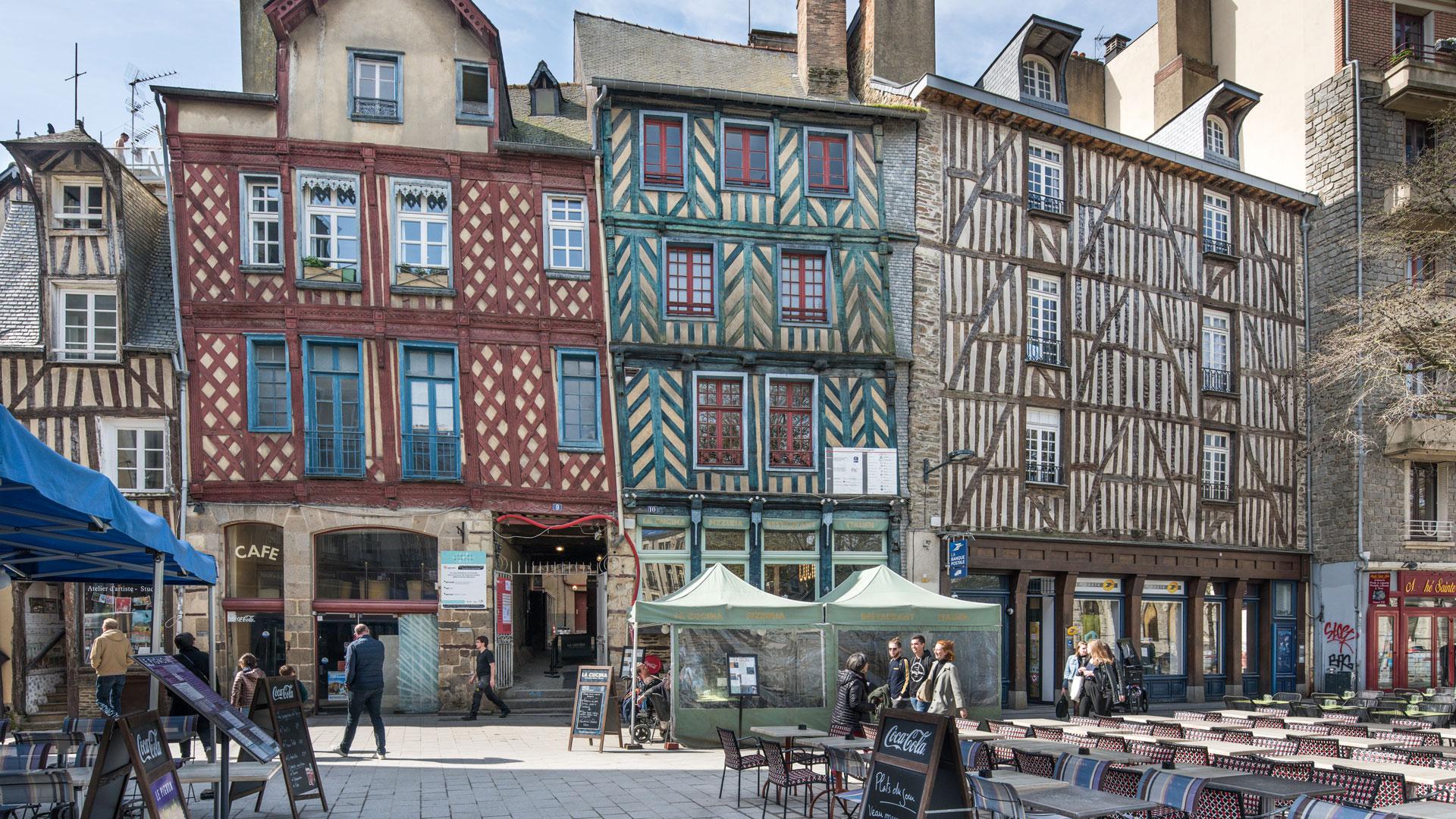 Rennes (35), place Sainte-Anne
