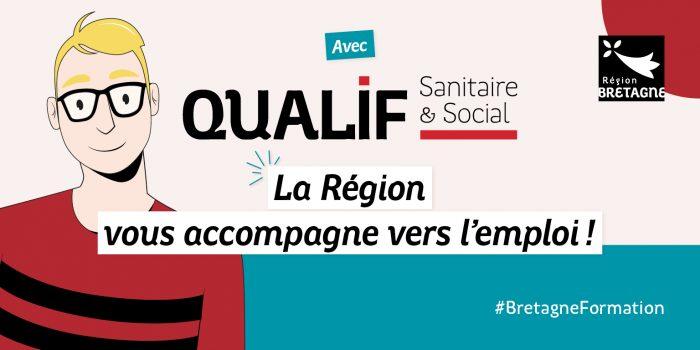 visuel offre de formations QUALIF sanitaire et sociale