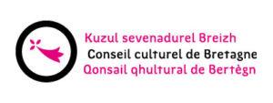 logo magenta Conseil culturel de Bretagne