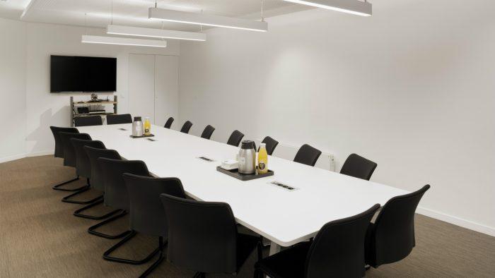 Salle de réunion au rez-de-chaussée - Maison de la Bretagne à Paris