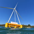 prototype d'eolienne flottante Eolink