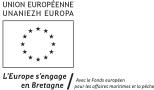 Visuel Union Européenne - L'Europe s'engage en Bretagne