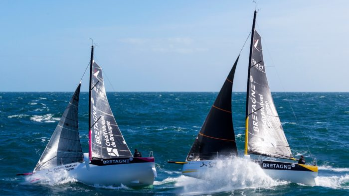 Bateaux des skippers Bretagne - CMB Voile