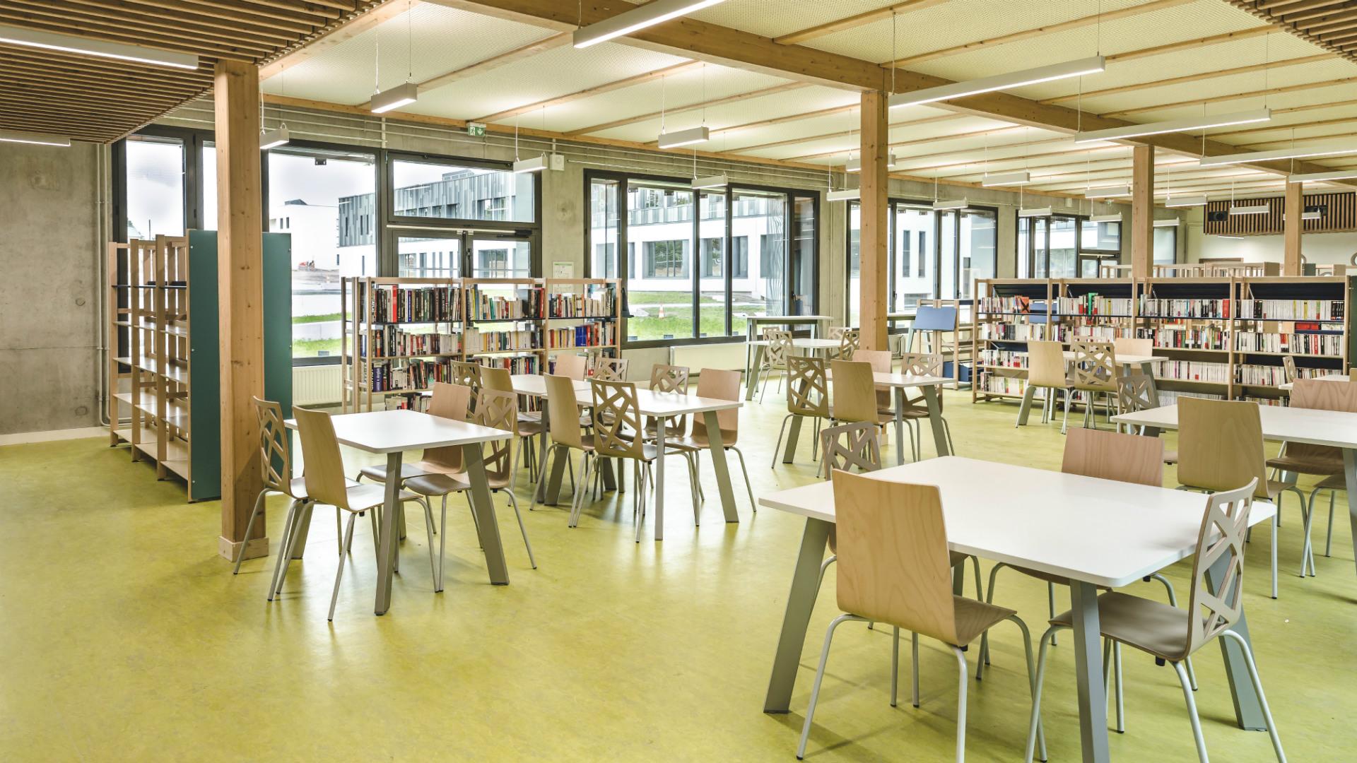 CDI du lycée de Liffré