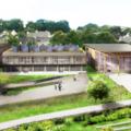 Vue d'architecte du lycée de Liffré
