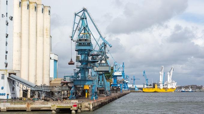 Aménagement et le développement du port de pêche de Lorient Keroman