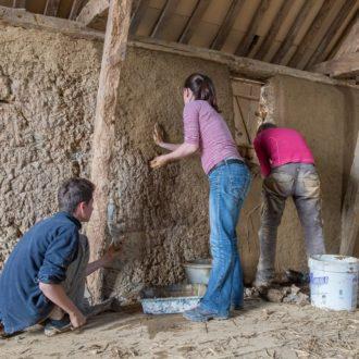 chantier de restauration jeunes