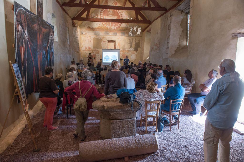 découverte du patrimoine: conférences, soirées contées, randonnées… dans une chapelle