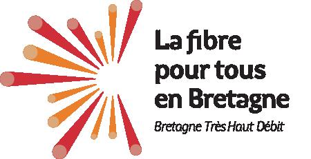 Logotype de La fibre pour tous en Bretagne - Bretagne Très Haut Débit