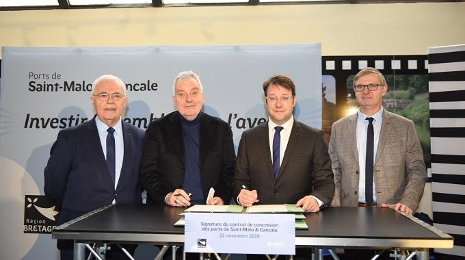 La Région et Edeis signent le contrat de concession