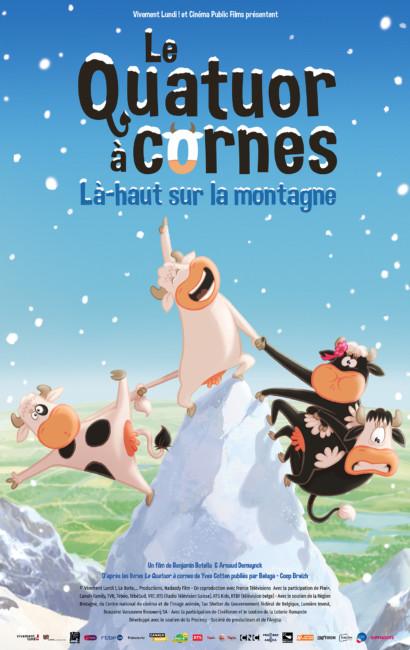 Le Quatuor A Cornes La Haut Sur La Montagne Bretagne Cinema Bretagne Cinema