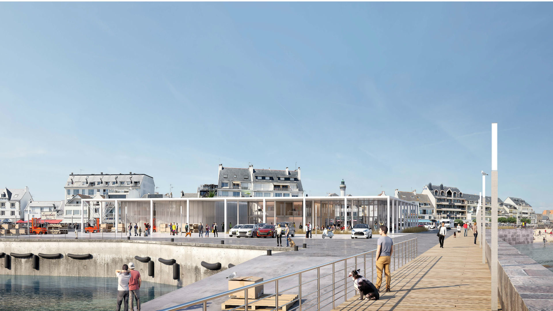 Une nouvelle gare maritime à Quiberon