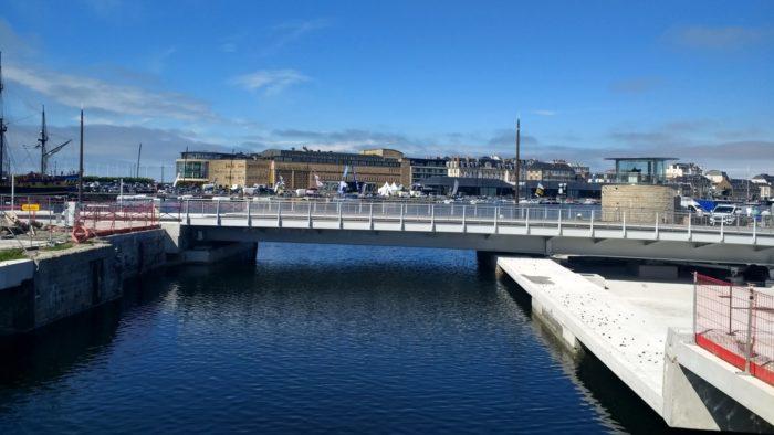 Nouveau pont de Saint-Malo