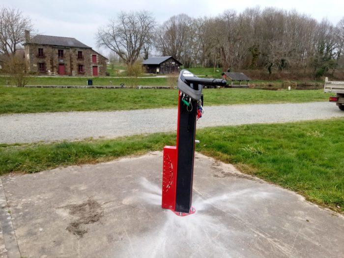 Station d'autoréparation vélo à Hédé Bazouges (35)