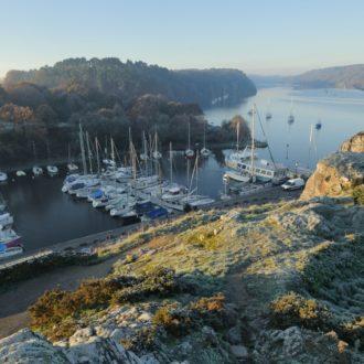 Le port de La Roche-Bernard (56), passage de la Vilaine dans le Morbihan