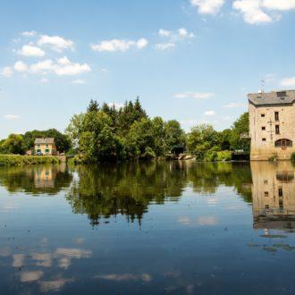 La cale de Pont-Réan (35) sur la Vilaine