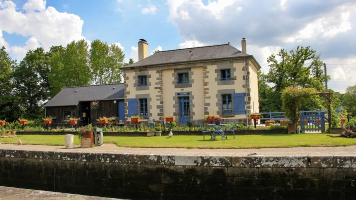 La maison éclusière de Ville Morin à Guipel (35)