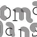 Logo du festival Nomadanse version noir et blanc