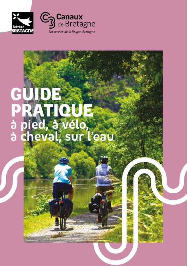 Guide pratique randonnée Canaux de Bretagne_couverture
